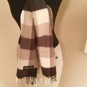 100% Cashmere Scarf Made in England